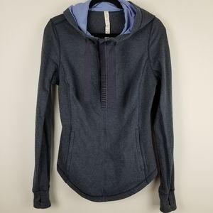 Lululemom Athletica size 8 half zip pullover top
